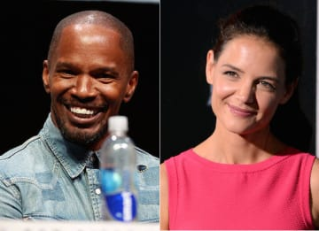Jamie Foxx & Katie Holmes Attend Pre-Grammys Party As A Couple