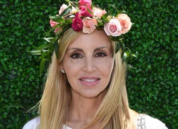 SANTA MONICA, CA - MAY 16: TV personality Camille Grammer attends OCRF's 2nd Annual Super Saturday LA on May 16, 2015 in Santa Monica, California. (Photo by Michael Buckner/Getty Images for FIJI)