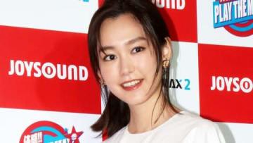 イベント「JOYSOUND MAX PARTY 2018」に登場した桐谷美玲さん