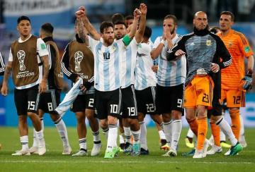 アルゼンチン代表の人気も上がる photo/Getty Images