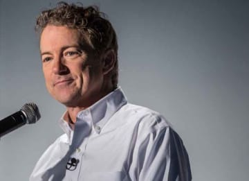 DES MOINES, IA - JANUARY 28: Republican presidential candidate Sen. Rand Paul (R-KY) speaks at a campaign event at Drake University on January 28, 2016 in Des Moines, Iowa. The Democratic and Republican Iowa Caucuses, the first step in...