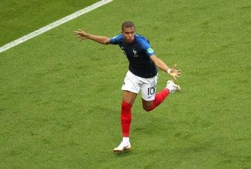 フランス代表のムバッペ photo/Getty Images