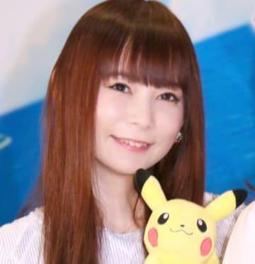 劇場版アニメ「劇場版ポケットモンスター みんなの物語」の公開アフレコイベントに登場した中川翔子さん