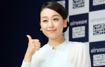 マットレスパッド「エアウィーヴ」の新CM&夏のキャンペーン発表会に出席した浅田真央さん