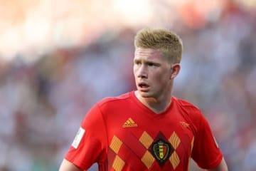 ベルギー代表のデ・ブライネ photo/Getty Images