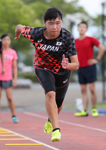 ユースオリンピック大会アジア予選に出場する新坂太佳子