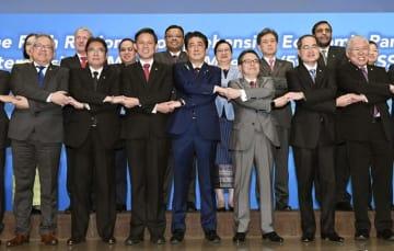 RCRP 閣僚 会合 安倍首相