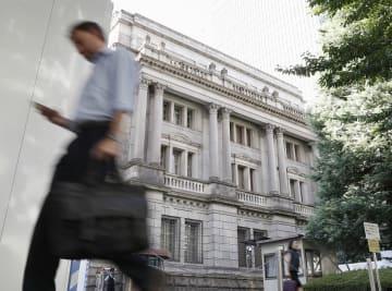 日本銀行本店=2日午後、東京都中央区