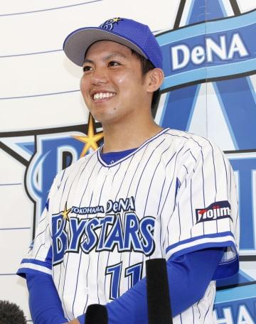 DeNA BayStars rookie Katsuki Azuma