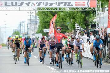 窪木一茂(チームブリヂストンサイクリング )が優勝