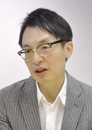インタビューに応じるアマゾンジャパンのジャスパー・チャン社長