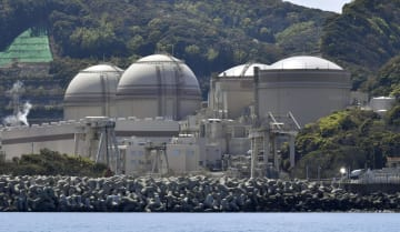 Oi nuclear plant in Japan