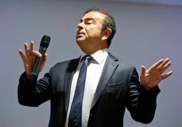 カルロス・ゴーン日産自動車会長(写真:AP/アフロ)