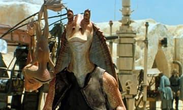アーメドが演じたジャー・ジャー・ビンクス - Lucasfilm Ltd / 20th Century Fox / Photofest / ゲッティ イメージズ