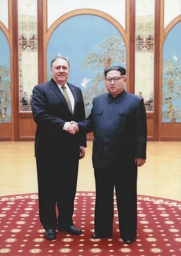 マイク ポンペオ 金正恩 朝鮮労働党委員長 会談