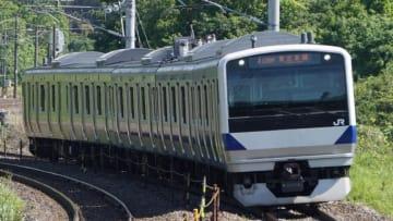 E531系 電車 東北本線 黒田原 高久