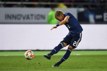 日本代表でブレイクした井手口 photo/Getty Images