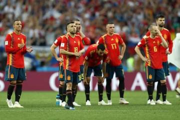 ベスト16で散ったスペイン photo/Getty Images