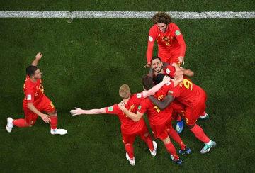 黄金世代のベルギー代表 photo/Getty Images
