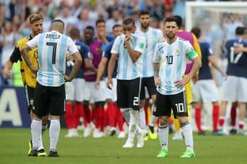 アルゼンチンもベスト16で姿消す photo/Getty Images