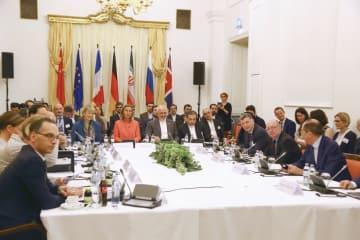 6日、ウィーンで開かれたイラン核合意を巡る合同委員会の外相級会合(共同)