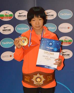 優勝:元木咲良