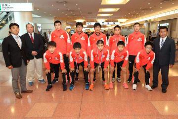 ザグレブから帰国した日本チーム