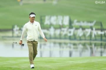 ヒョンソンはハンパないプレーで勝利をつかめるか!?(写真は2日目)(撮影:村上航)