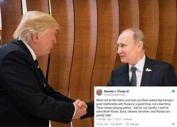 Vladimir Putin Says He's Ready To Rejoin The G7