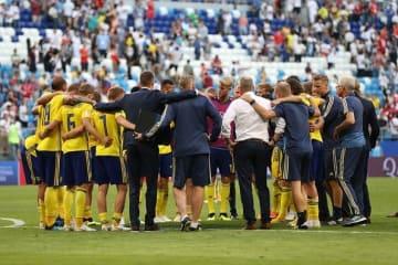 イングランドに敗れたスウェーデン photo/Getty Images