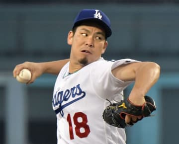 Kenta Maeda of the Los Angeles Dodgers   2018062600653