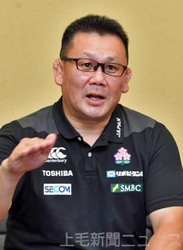 「日本でのワールドカップを後世につながるような大会にしたい」と語る薫田さん