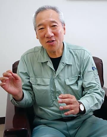 新潟県鉄骨工業組合・渡邊理事長