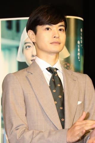NHKの連続ドラマ「透明なゆりかご」の第1回試写会に登場した瀬戸康史さん