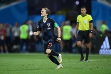 クロアチア代表のモドリッチ photo/Getty Images