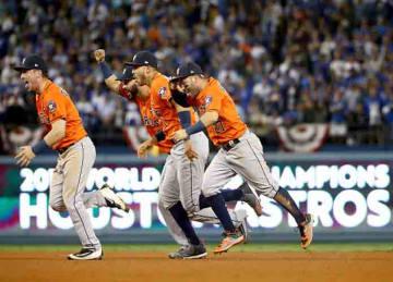 Astros win World Series 2017