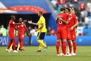 ベスト4進出を決めたイングランド photo/Getty Images