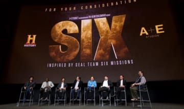 「SIX アメリカ海軍特殊部隊」キャスト&スタッフら - Earl Gibson III / Getty Images for A+E Networks / History