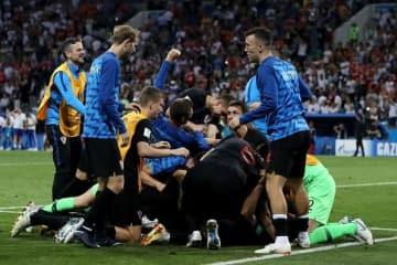 準決勝まで進んできたクロアチア代表 photo/Getty Images