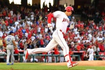 自身メジャー初となる代打本塁打を放ったエンゼルス・大谷翔平【写真:Getty Images】
