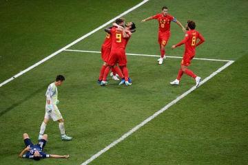 ベルギーに3失点した日本代表 photo/Getty Images