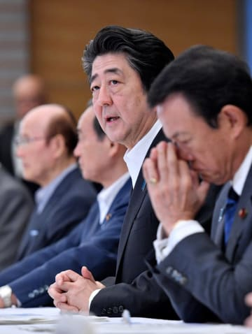 7月 豪雨 非常 災害 対策 本部 会議 西日本 大雨 安倍 晋三 首相