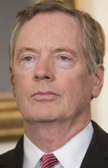 顔:U.S. Trade Representative Robert Lighthizer in 2017, 2018042300321