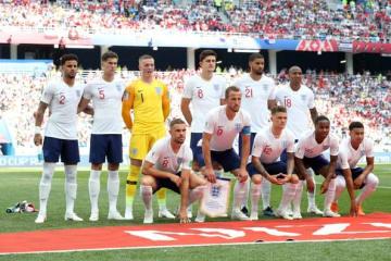 28年ぶりにW杯のベスト4進出を果たしたイングランド代表 photo/Getty Images