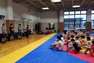 2大会の代表が内定した後、最初の全日本合宿をスタートした男子フリースタイル・チーム