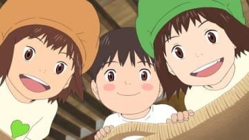 「GREEN DA・KA・RA」と細田守監督最新作「未来のミライ」コラボした新CM「おひるね」編の一場面 (C)2018 スタジオ地図