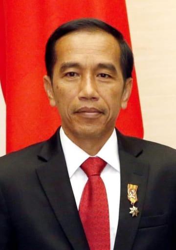 顔:Indonesian President Jokowi, 2016120300443
