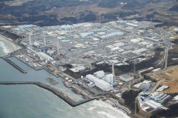 東京電力福島第1原発=2018年2月