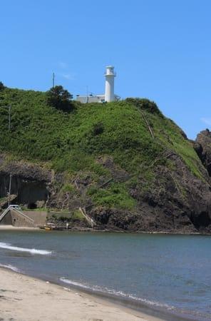 「恋する灯台」に認定された角田岬灯台=新潟市西蒲区