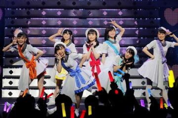 ファイナルツアー「Wake Up,Girls! FINAL TOUR -HOME-~ PART ? Start It Up,~」の初日公演を開催した「Wake Up,Girls!」